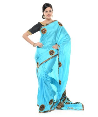 Urban Pari Saree With Unstitched Blouse