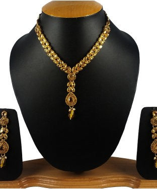 Aradhya Metal Jewel Set (Gold)