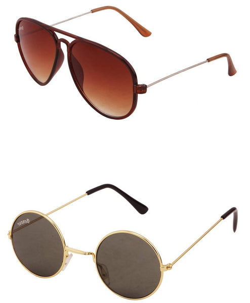 Benour pack of 2 Unisex Sunglasses $ BENCOM210