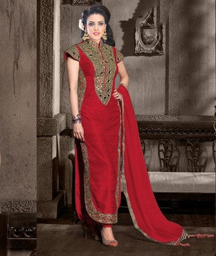 Bangalore Silk Suit with Lining