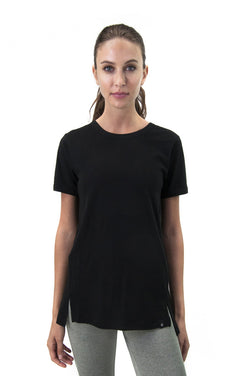 SATVA - Women Round Neck Yoga/Sports T-Shirt $ WH17256