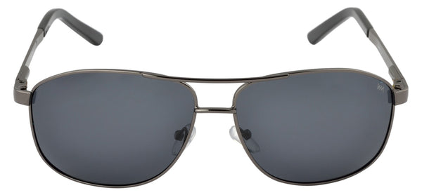 Lawman UV Protected Grey Unisex Sunglasses-LawmanPg3 Sunglasses LM4511 C4 (Grey)