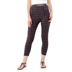 Baluchi's Check Plaid Print Jeggings $ BLC_JEG_11