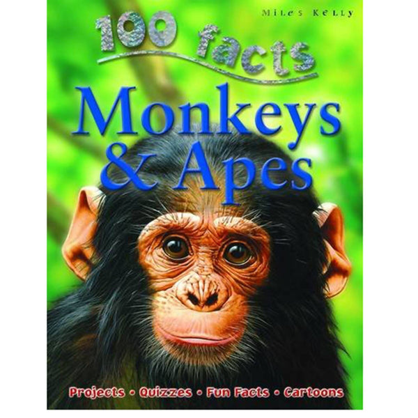 100 Facts - Monkeys & Apes