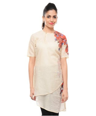 Shashank And Prajwal Beige Tunic