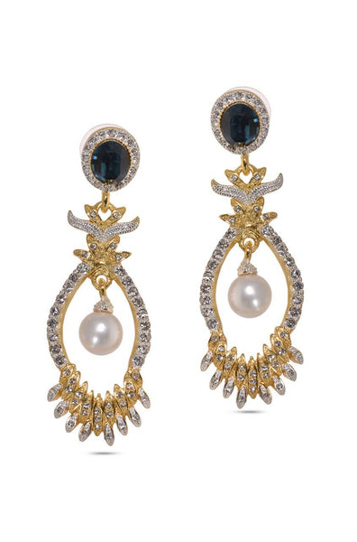 Pearl Eyed Earrings  - JSENEAR1846