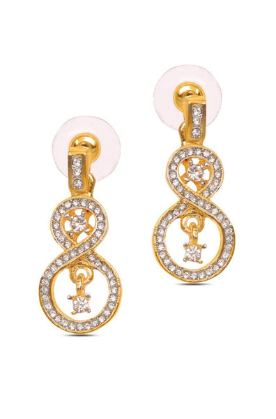 Bauble Burst Glam Eight Earrings