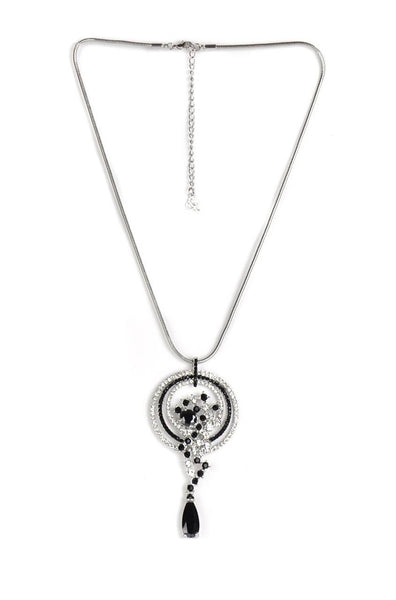 Spiral Drop Necklace - JAWCNEC0777