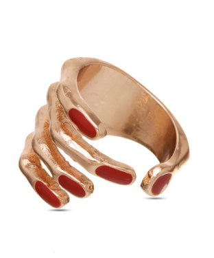 Tribal Mantra Ring-JIAFRIN5758S