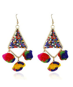 Aradhya Beads Metal, Alloy Dangle Earring