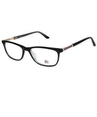 David Blake Black Wayfarer Full Rim EyeFrame