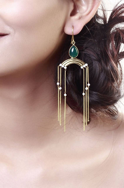 Twin Tower Earrings - JIRREAR8027