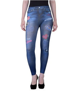 Fashionable Printed Leggings