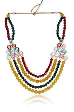 Meena Minar Necklace - JRJUNEC8761