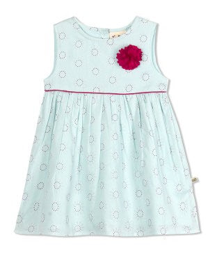 Budding Bees Girls Infant Unique Floral Printed Dress
