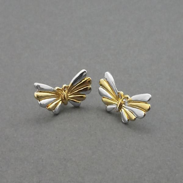 Tanishka Fashion 2 Tone Plated Stud Earrings $ 1310725