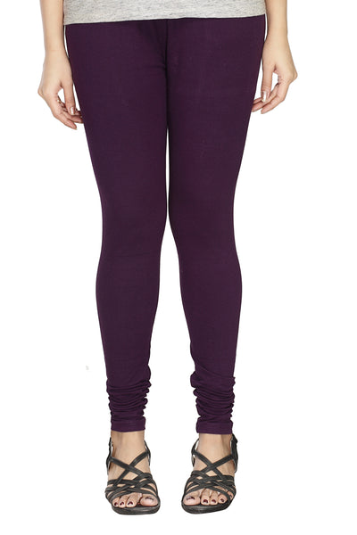 Minu   Premium Dark Purple  womens  Leggings $ PL_48
