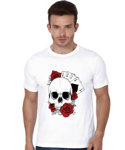 Partum Corde Premium Men's Modern Fit Round Neck T shirt ACES AND ROSES $ ACES AND ROSES2163
