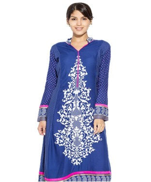 Desirang Blue Kurta