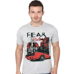 Partum Corde Premium Men's Modern Fit Round Neck T shirt FEAR THIS $ FEAR THIS1578