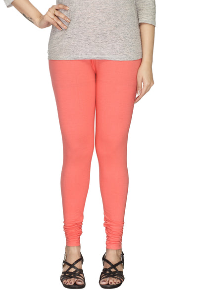 Minu   Premium Peach Pink  womens  Leggings $ PL_46