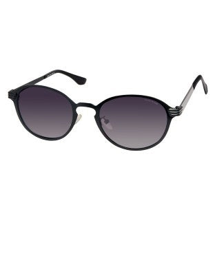 David Blake Grey Round Polarised Sunglass
