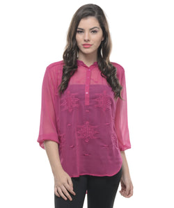 S BY S 3/4 Slv Top AW_100000695666