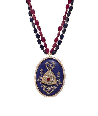 Purple Panache Necklace