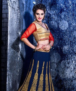 Georgette Lehenga Set with Lining