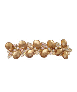 BAUBLE BURST Gold Glimmer Hair Clip