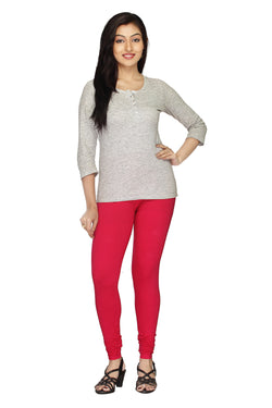 Minu   Premium Red  womens  Leggings $ PL_02