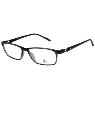 David Blake Grey Rectangular Full Rim EyeFrame