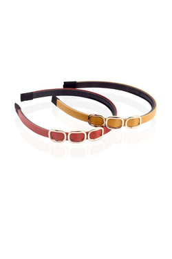 BAUBLE BURST Buckle Up Hairbands Set of 2