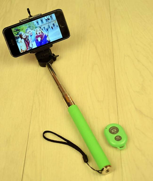 Selfie Stick With Bluetooth Remote Monopod AW_100000815801