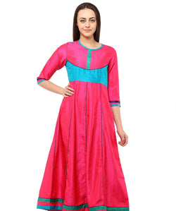 PEACH COLOR COTTON HOMA KURTIS