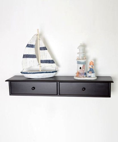 THE NEW LOOK Wooden Storage Wall Shelf-100000813529