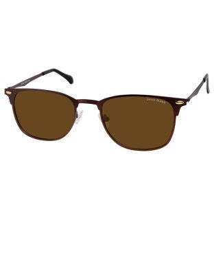 David Blake Brown Wayfarer Polarised, UV Protected Sunglass
