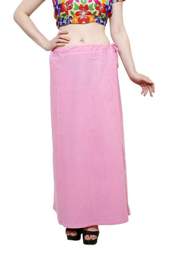 MY TRUST Cotton Pink Color Saree Petticoats $ PT-6