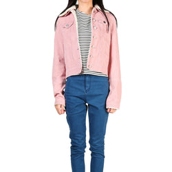 London Rag Women's Baby Pink Jacket-CL7095
