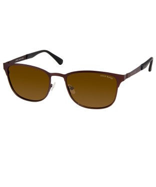 David Blake Brown Wayfarer Polarized UV Protection Sunglass