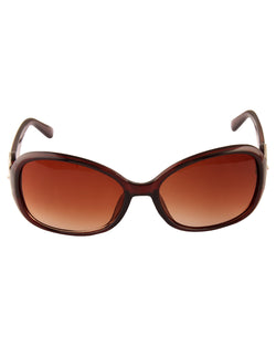 Brown Smart Sunglasses For Women-AD_1216_BrownBrown
