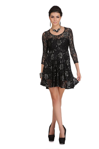 Bold Lace Dress $ 2sis230-10