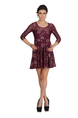 Bold Lace Dress $ 2sis230-51