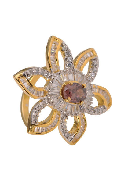 Floral Cocktail Ring - JDMDRIN1926