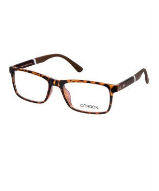 Cardon Tortoise Brown Rectangular Full Rim EyeFrame