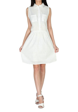 London Rag Womens White Dress -CL_7088