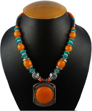 aradhya Beads Stone Necklace