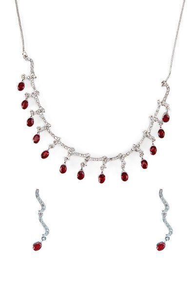 BAUBLE BURST Necklace with Earrings-100000617340