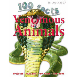 100 Facts - Venomous Animals