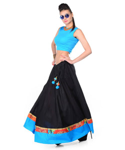 Long Skirt with Crop Top AW_100000644772